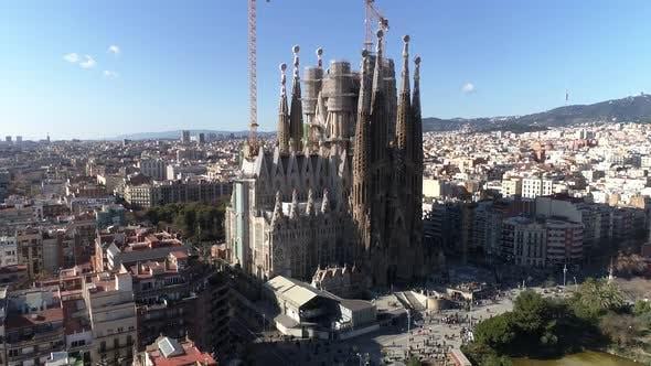 Sagrada Família Temple in Barcelona