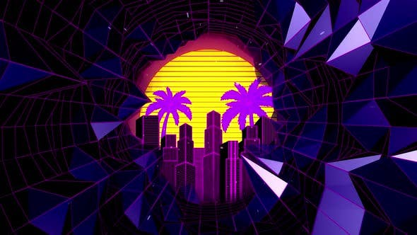 Retro Wave Tunnel