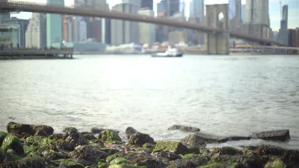 Thumbnail for New York Rocks River & Skyline