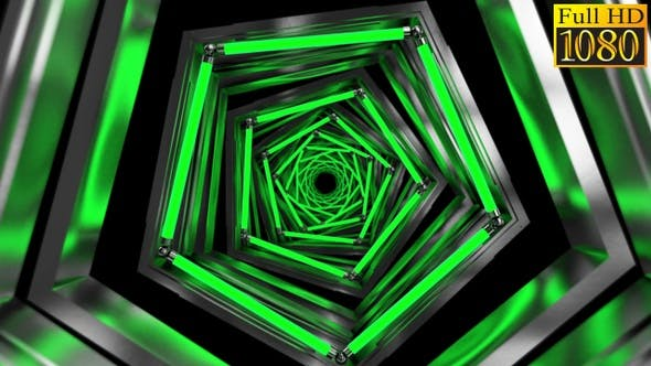 Thumbnail for Tunnel Vj Loops V8