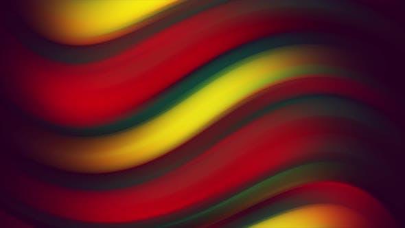 4K Loop Twisted Gradient Background