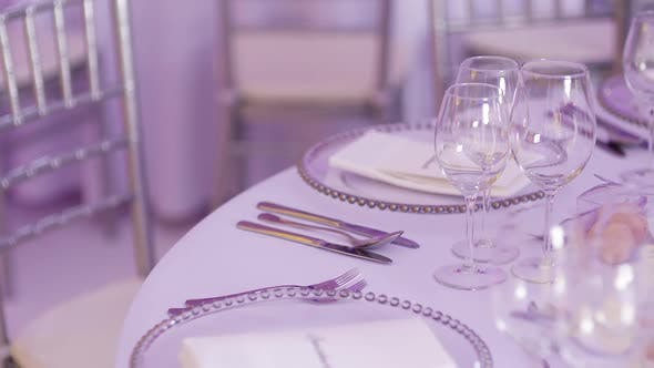Cover Image for Luxury Decorated Table for Wedding Dinner