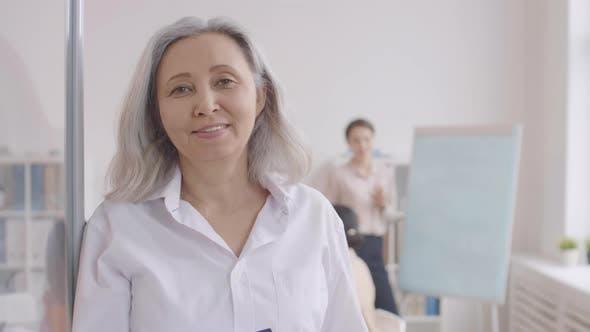 Thumbnail for Portrait of Elderly Asian Businesswoman