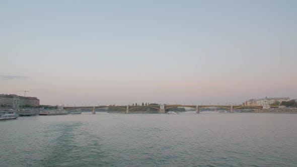 Danube River Margaret Bridge