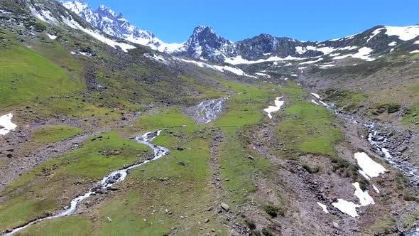 U Shaped Glacial Valley