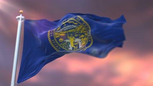 Flag of Nebraska State