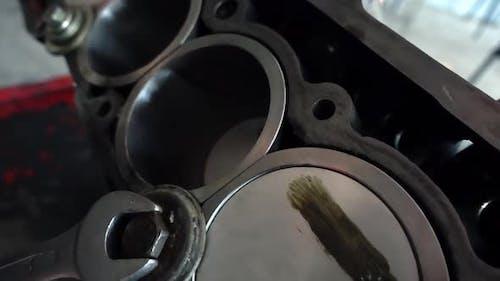 Car Cylinder Block Repair