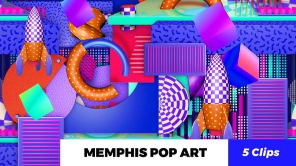 Thumbnail for Memphis Pop Art