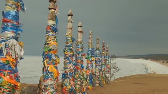 Thumbnail for Ritual Pillars in a Sacred Place on Lake Baikal