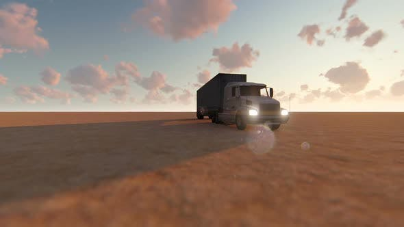 Thumbnail for Truck in the Desert