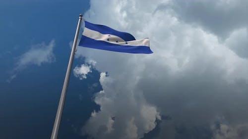 Honduras Flag Waving 4K