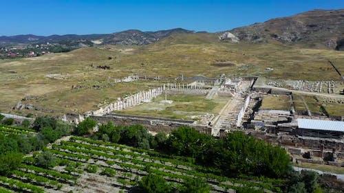 Die antike Stadt Tripolis - Denizli - Türkei.