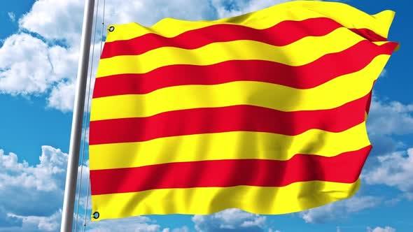 Thumbnail for Waving Flag of Catalonia