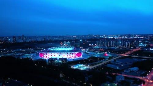 Football Stadium Spartak Moscow Otkritie Arena