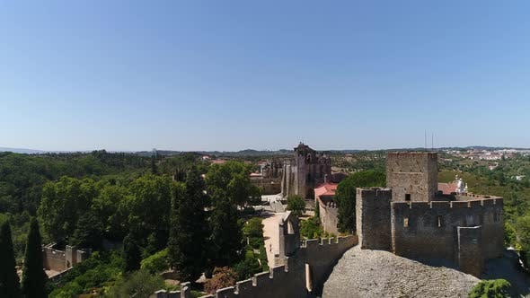 Thumbnail for Portugal Templars Castle and Convent of Christ in Tomar