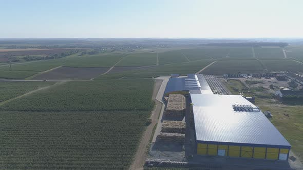 Thumbnail for Aerial view of a farm