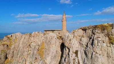 Historical castle and mosque.