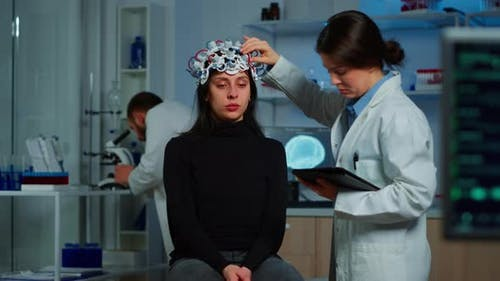 Professional Doctor in Neuroscience Developing Treatment