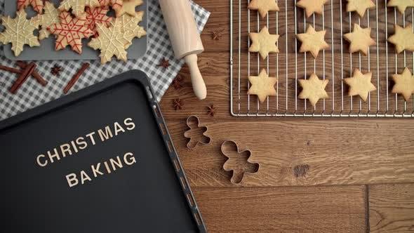 Christmas preparation of sweet food