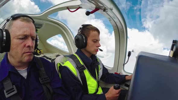 Student Pilot Learning to Fly
