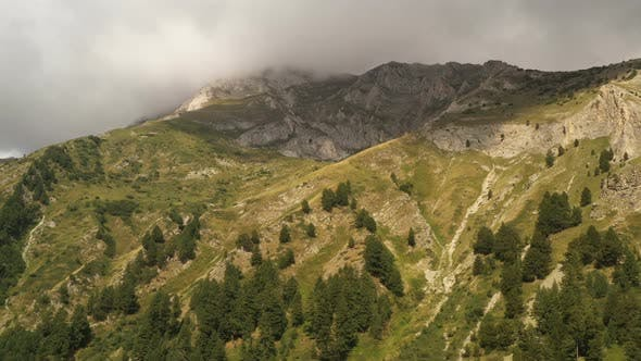 Part Of Pirin Mountain In Bulgaria