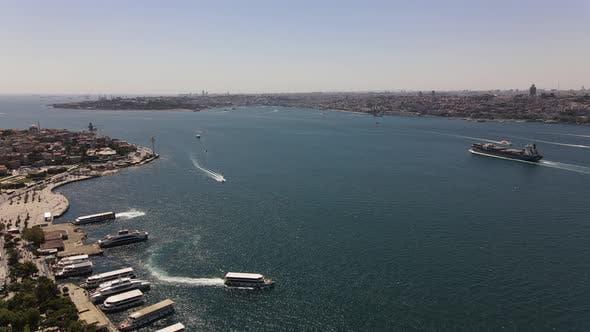 Bosphorus Traffic Istanbul