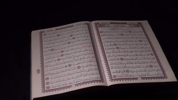 Holy Quran Slider Shot  4K- V2