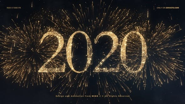Thumbnail for New Year Fireworks 2020