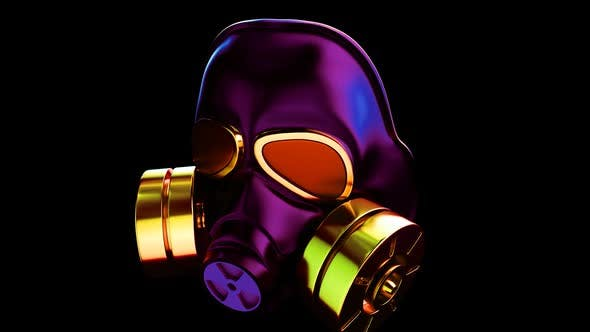Gas Mask VJ Loop