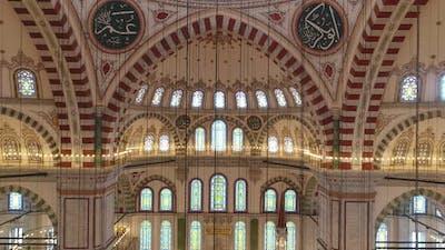 Istanbul Fatih Mosque Interior