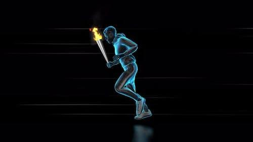 Olympics Running Loop