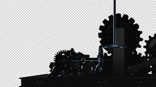 Maschinengetriebe - Spinnschleife - IV