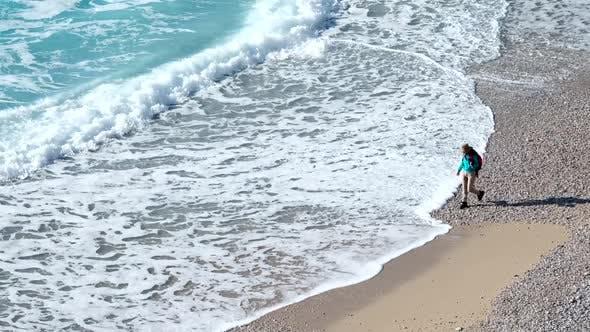 Thumbnail for Woman Sea Waves