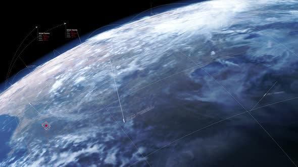 Thumbnail for Futuristic Earth Defense Targeting HUD