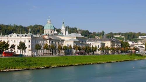 Time Lapse of Salzburg, Austria