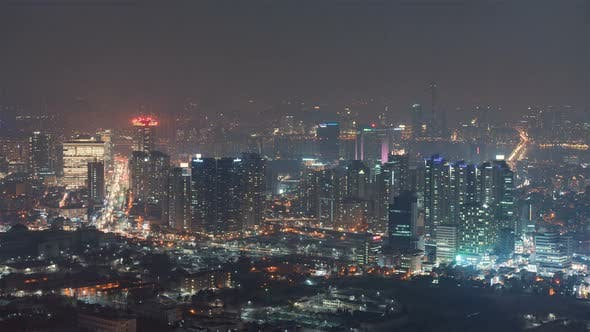 Thumbnail for The South of Seoul at Night