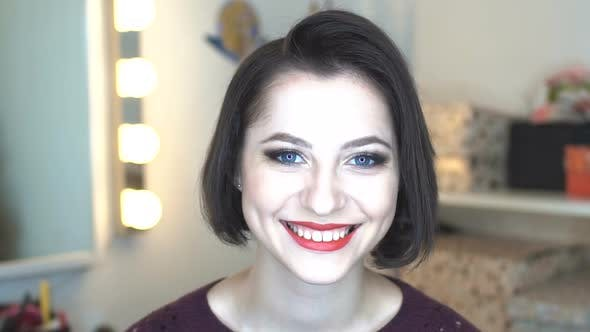 Thumbnail for Beauty Woman Smiling Face