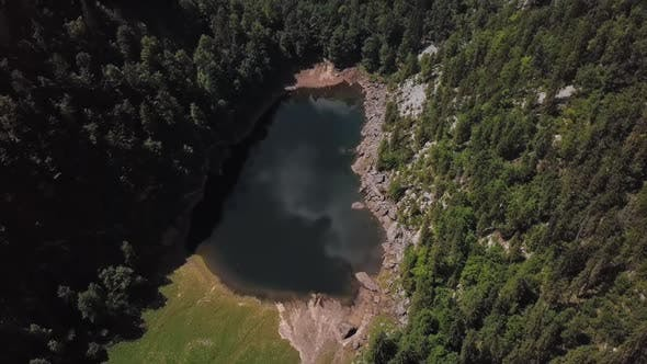 Thumbnail for Aerial of Toplitzsee Lake, Austria