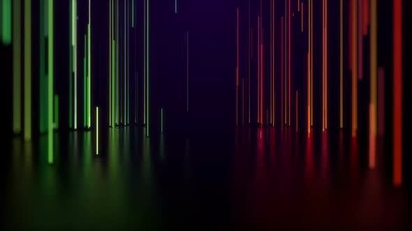 Line Glow VJ Background