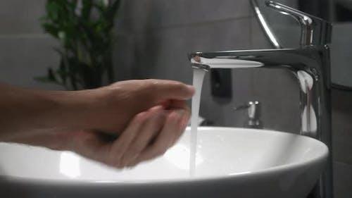 Hand washing to prevent coronavirus Covid-19 infection