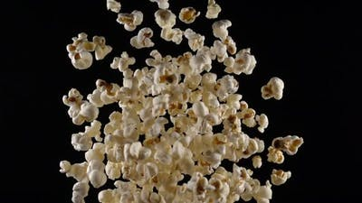 Popcorn in Free Fall
