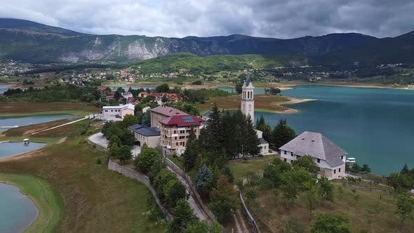 Thumbnail for Franciscan Monastery Of Rama Beside Ramsko Lake, Prozor Rama, Bosnia And Herzegovina V5