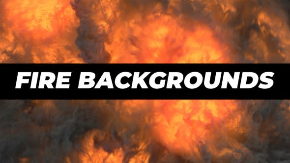 Thumbnail for Fire Backgrounds Pack
