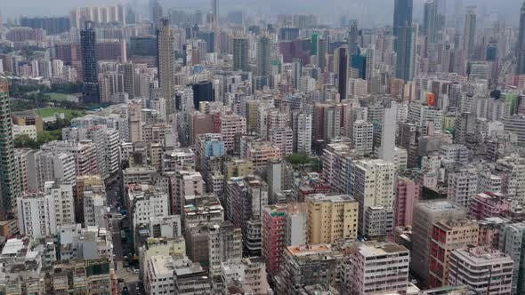Thumbnail for Aerial view of Hong Kong city