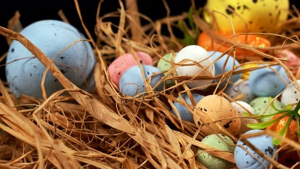 Thumbnail for Colorful Traditional Celebration Easter Paschal Eggs 44