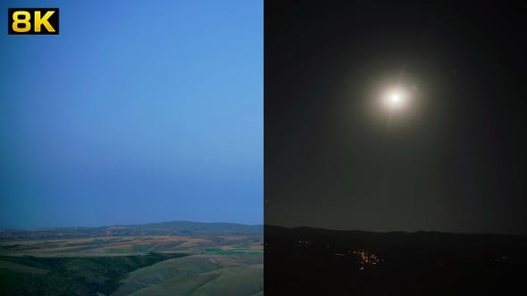 Thumbnail for Moonrise Landscape