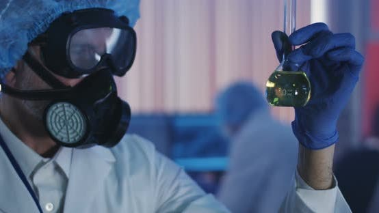 Thumbnail for Scientist Working in Laboratory