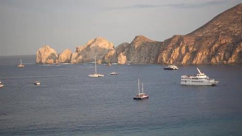 The peninsula near El Arco de Cabo in Cabo San Lucas, Mexico.