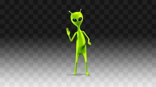 Alien Funny Dancing