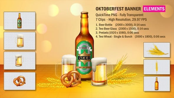 Thumbnail for OktoberFest Banner Elements